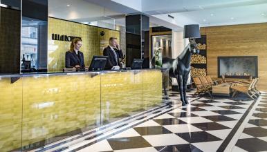 Lilla Roberts − hotelli erinomaisella sijainnilla Helsingin Kaartinkaupungissa