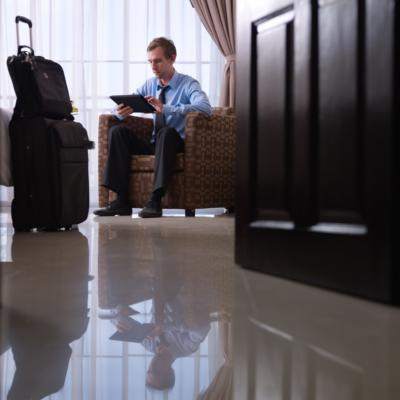Hotel benefits for corporate customers