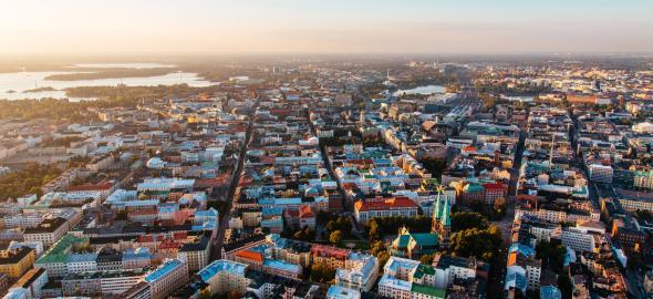 Lilla Roberts on rauhallinen hotelli aivan Helsingin nähtävyyksien äärellä