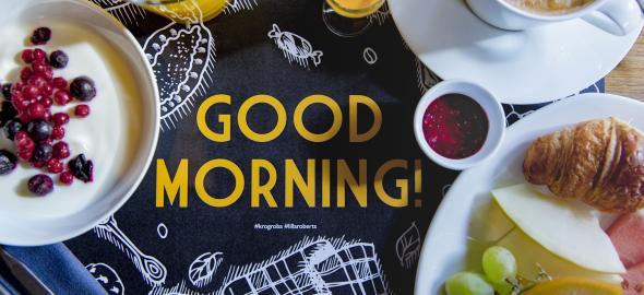 Krog Roba tarjoaa aamiaista viikon jokainen päivä Kaartinkaupungissa