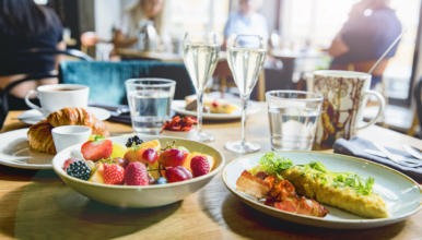 Breakfast, brunch, lunch and dinner at Nordic restaurant Krog Roba