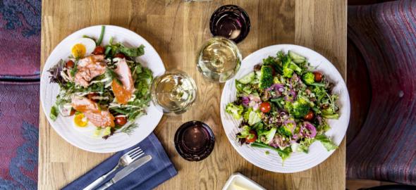 Krog Roban ruokaisa salaatti on täydellinen lounas