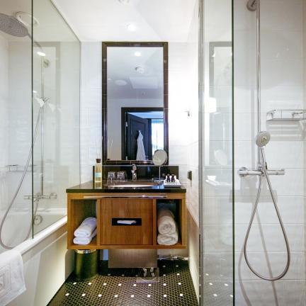 Upea art deco -hotelli Helsingin keskustassa